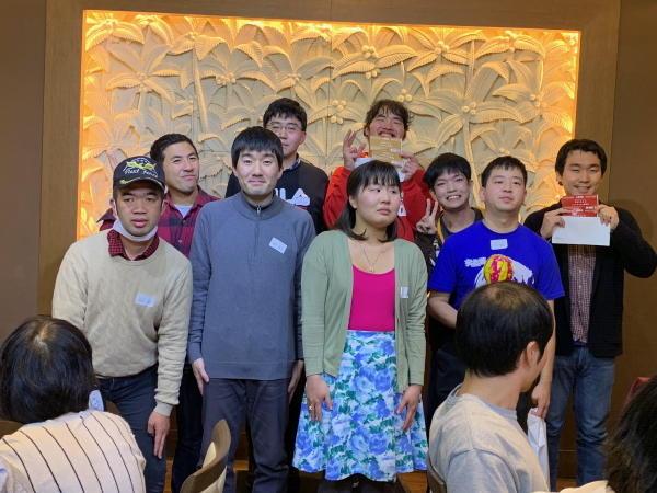 横浜中部就労支援センター忘年会2019の様子2