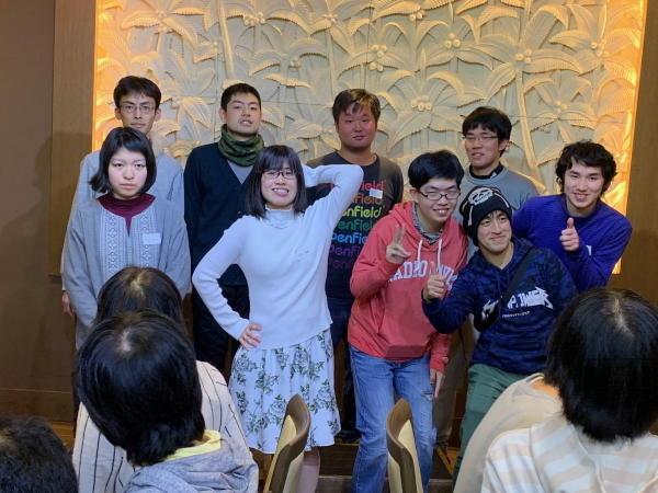 横浜中部就労支援センター忘年会2019の様子3