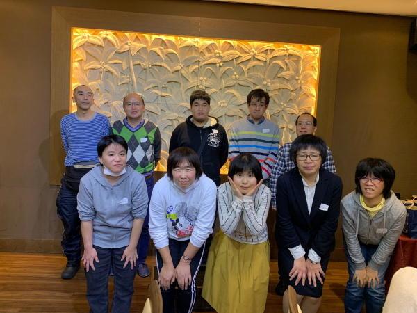 横浜中部就労支援センター忘年会2019の様子5